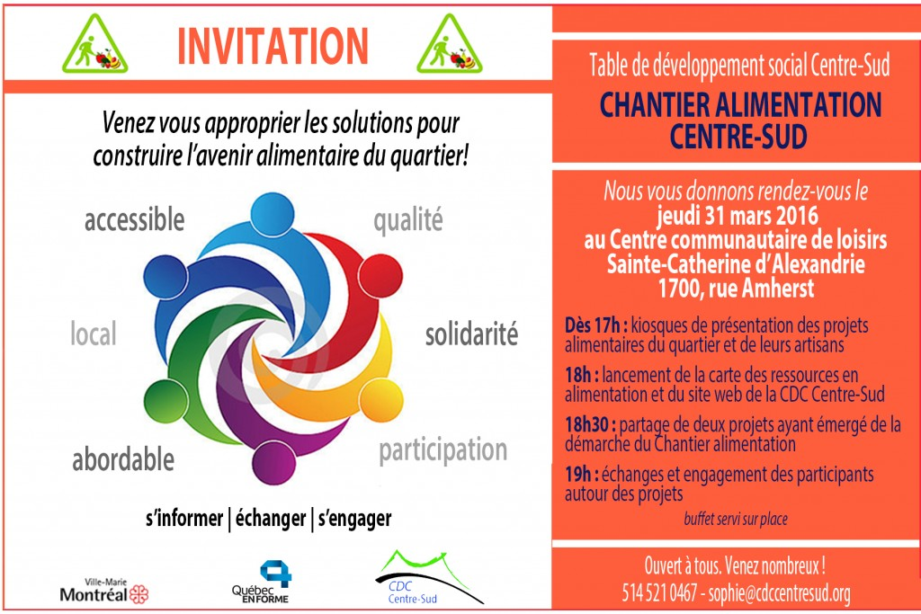invitation chantier alimentation 31 mars 2016 flyer