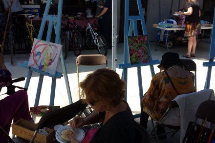 Activité d'art public du Centre communautaire de loisirs SAint-Catherine d'Alexandrie